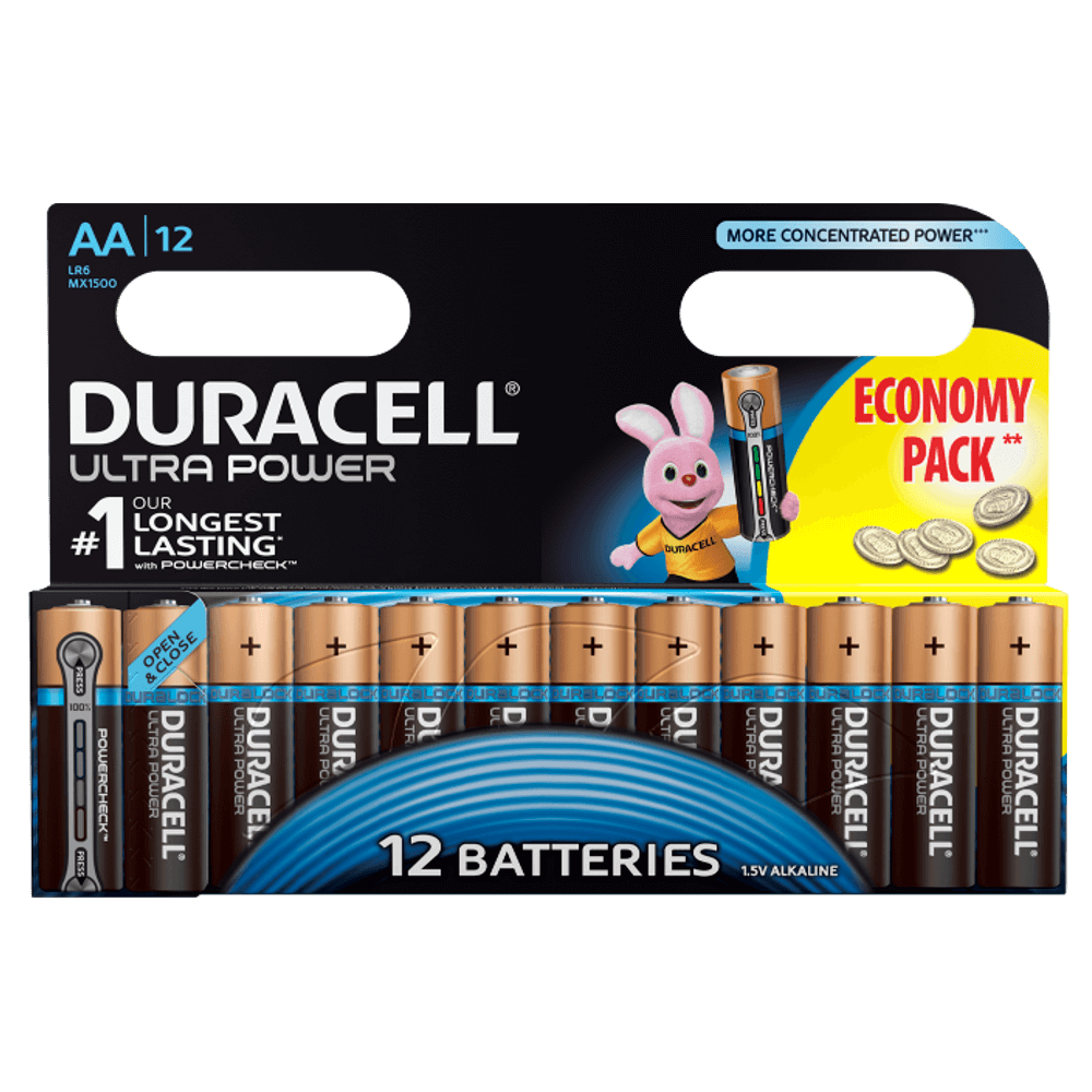 duracell plus power aa batterien. Black Bedroom Furniture Sets. Home Design Ideas
