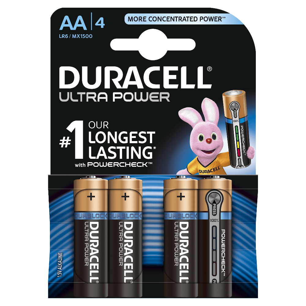 duracell ultra power aaa batterien. Black Bedroom Furniture Sets. Home Design Ideas