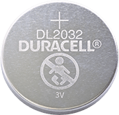 Duracell Lithium-Knopfzelle DL2032 Batterie