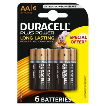 duracell plus power 9v batterien. Black Bedroom Furniture Sets. Home Design Ideas