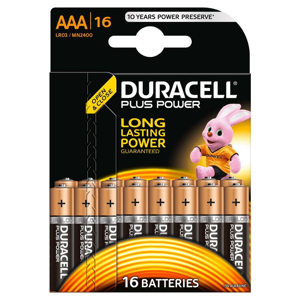 duracell plus power aaa batterien. Black Bedroom Furniture Sets. Home Design Ideas