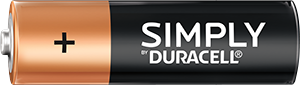 Duracell Simply AA Batterie