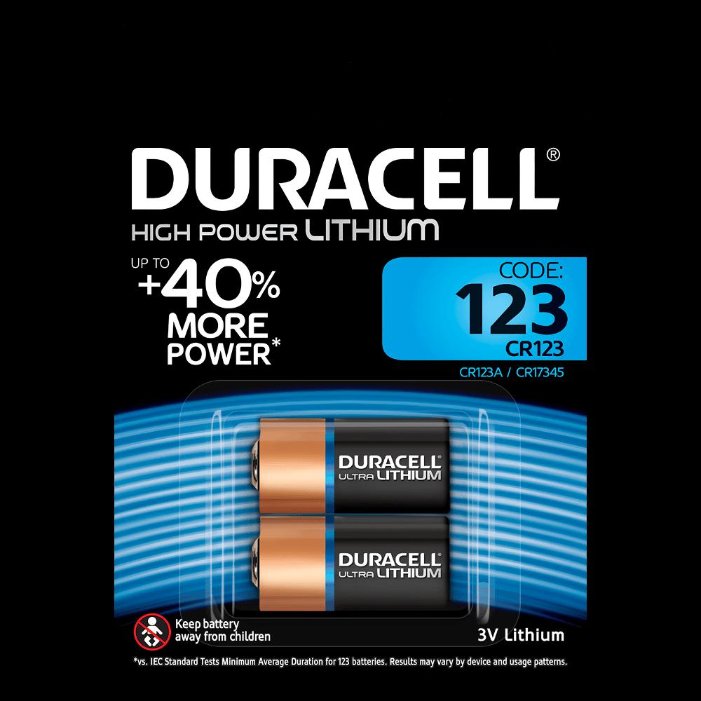 Ultra Lithium 123 Spezialbatterien Duracell