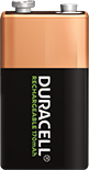 Duracell Rechargeable 9V 170mAh Batterie