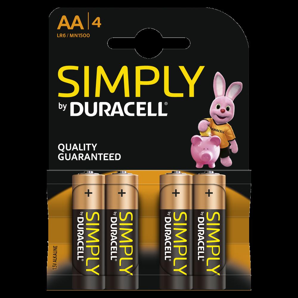 duracell simply batterien in den gr en aa und aaa erh ltlich. Black Bedroom Furniture Sets. Home Design Ideas