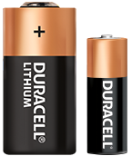 Duracell Specialty Lithium Batterien AA and C