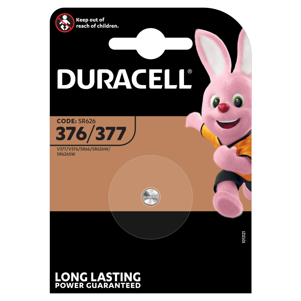 Duracell Specialty 377 Silberoxid-Knopfzelle 1,55 V