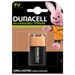 Duracell Rechargeable 9V 170mAh