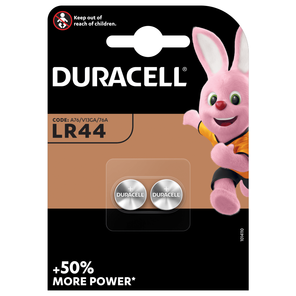 Duracell Specialty LR44 Alkaline Knopfzelle 1,5V