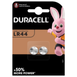 Duracell Specialty LR44 Alkaline Knopfzelle 1,5V 2-stück Packung